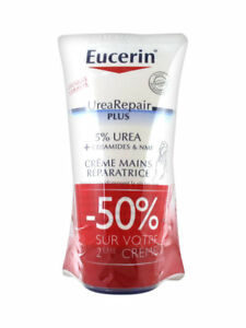 Eucerin UreaRepair PLUS 5% Urea Repairing Hand Cream 2 x 75ml