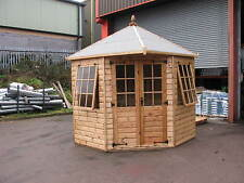 7' x 7' New Geogian Corner Summer House RRP £2889  Delivery charges applicable