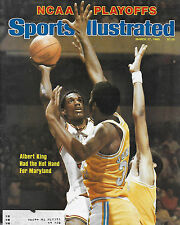 SPORTS ILLUSTRATED - MARYLAND'S ALBERT KING from MARCH 17.1980