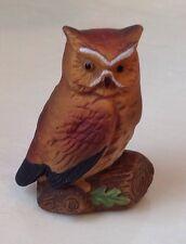 "VINTAGE Napco Napcoware 9988 Porcelain OWL Part of a collection Chi Omega 2.5"""