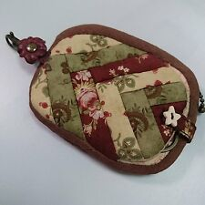 Handmade Quilt Purse Coin Mini Bag with Keyring Best Gift