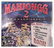 Mahjongg 2 XP Championship Kanji Edition Pc Brand New Sealed Win10 8 7 XP Nice