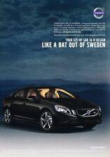 2012 Volvo S60 R-Design T6 Original Advertisement Print Art Car Ad J888