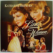 Little Women  1933 Oscar Best Screenplay  Katharine Hepburn  B&W  Laserdisc Edit