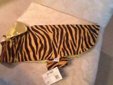 Dog jacket coat DOGGIDUDS Tiger fancy guilded safari PET APPAREL size M