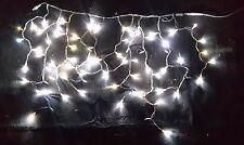 Stalattite Tende 76 MaxiLed Flash Bianco, Effetto Flashing, Luci di Natale