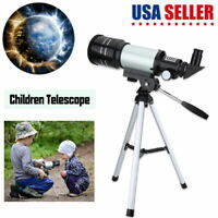 150X Refractor Astronomical Telescope With Tripod & Phone Adapter Kids Gift