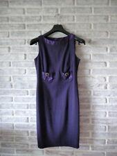 Abito Donna in Lana elasticizzata Colore Viola Tg 42 Luisa Spagnoli Originale