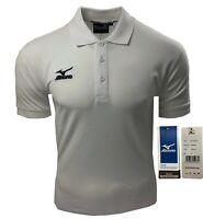 """Mizuno Golf """"Pro"""" Cotton Golf Polo Shirt - RRP£45 - S M L XL XXL 3XL 4XL - White"""