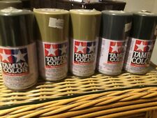 Tamiya Color NEW FIVE cans Spray enamel new cans