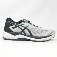Asics Mens Gel Fortitude 8 T816N Glacier Grey Black Running Shoes Size 9.5