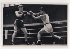 HARANGI HUNGARY PADILLA PHILIPPINES BOXE BOXING 1936 OLYMPIC GAMES
