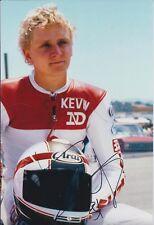 Kevin SCHWANTZ SIGNED Autograph SUZUKI Racing Team 12x8 Portrait Photo AFTAL COA