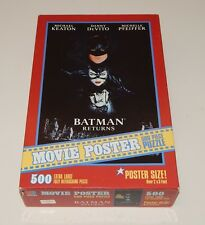 Batman Returns Movie Poster 500 Piece Puzzle Sealed 2x3 Feet R14082