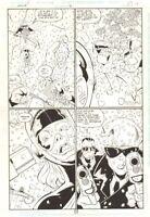 Impulse #36 p.17 - Epic Battle - 1998 art by Craig Rousseau