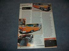 1962 Chrysler 300 Sport Mild Custom Article