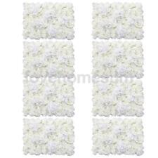 8 Stücke Künstliche Blumen Wand Hochzeit Home Dekor Creme