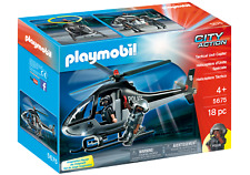Playmobil 5675 Tactical Police Helicopter (Boats & Aeroplanes) for Age 3+
