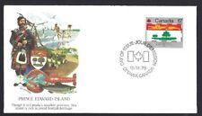 Canada   # 827    Fleetwood Prince Edward Island Cover    New 1979 Unaddressed