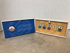 2008 BEIJING OLYMPIC SPONSOR CHINA MOBILE MASCOT PIN SET 6 PINS IN ORIGINAL BOX!