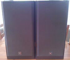 JBL LX44 3-way Stereo Speakers Black Ash with Matching Stands