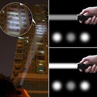 3 Mode Waterproof Zoomable LED Linterna Flashlight Luz Focus Torch Zoom Lámpara