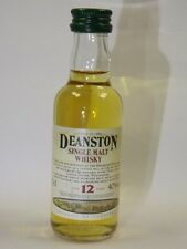Deanston 12 Whisky 50ml 40% mini flaschen bottle miniature bottela mignonnette