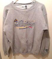 VTG Puma St Louis Rams Super Bowl XXXIV NFC Long Sleeve Sweatshirt  SZ M