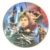 The Hamilton Collection Star Wars Portrait Collage Luke Skywalker Plate