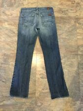 7 SEVEN FOR ALL MANKIND jeans womans 25 x 28 straight leg