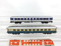 CF877-0,5# 2x Märklin H0/AC Personenwagen DB Büm 234, 1x mit Licht, sehr gut