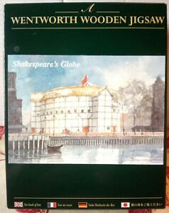 WENTWORTH Shakespeare's Globe Theatre London 250 piece Wooden JIGSAW PUZZLE RARE