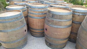 Authentic Used Oak Wine Barrel