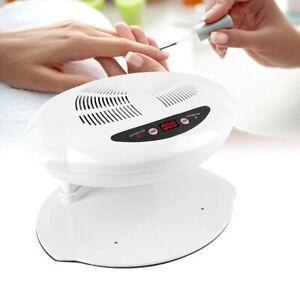 Weicfun Nail Lamp 400W LED UV Hot & Cold Air Nail Dryer for Fingernail & Toenail