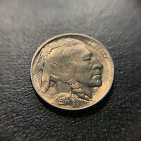 1914 D Buffalo Nickel BU Brilliant Uncirculated UNC MS Indian Head Bison 5c