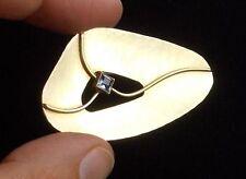 *RAR* Elegante Designerbrosche in 835 Silber Juwelier Rusch Handarbeit!