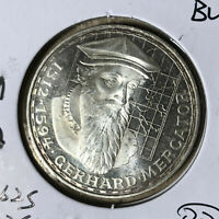 1969-F Germany 5 Mark Silver Coin