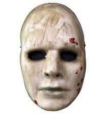 Maniac Blood Creepy Horror 1960s Ghost Halloween Mens Costume 1/2 Vacuform Mask