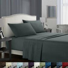 Queen Sheet set BEDDING 1800 Count 4 Piece Bed Sheet Set Deep Pocket Sheets 628B