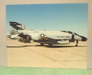 Original Photo- McDonnell Douglas F-4 Phantom, Minnesota 65585 ANG 35.5 x 28cm