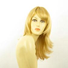 Parrucca donna semi lunga biondo chiaro dorato  LILI ROSE LG26
