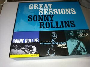 SONNY ROLLINS GREAT SESSIONS BOX SET 3CD BLUE NOTE