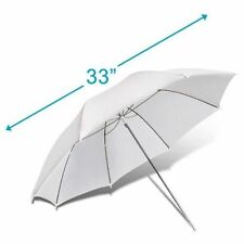 "33""Inch 83cm Photography Studio Strobe Flash Light Reflector White Soft Umbrella"