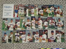 1989 MOTHERS COOKIES TX RANGERS SGA SET TEXAS COMPLETE 28 CARD TEAM ISSUE