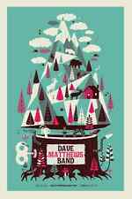 Dave Matthews Band Poster 2013 Commerce City CO Signed & Numbered #/755 N2 Rare