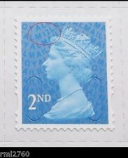 2012 2nd Class M12L SINGLE STAMP from Counter Sheet MINT