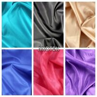 """1m lilac silky deluxe lining fabric 45/"""" wide"""