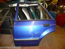 Ford Escort mk4  near side rear door also orion and ghia in eclipse blue