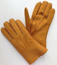 Dellen Fownes Schafleder Handschuhe unbenutzt Vintage Größe 9.5 Made in England Herren 9 1/2