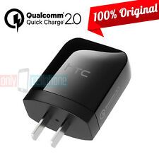 Original HTC M9 M8 Fast Charger 15W Rapid Qualcomm 2.0 Home Charger for HTC ONE